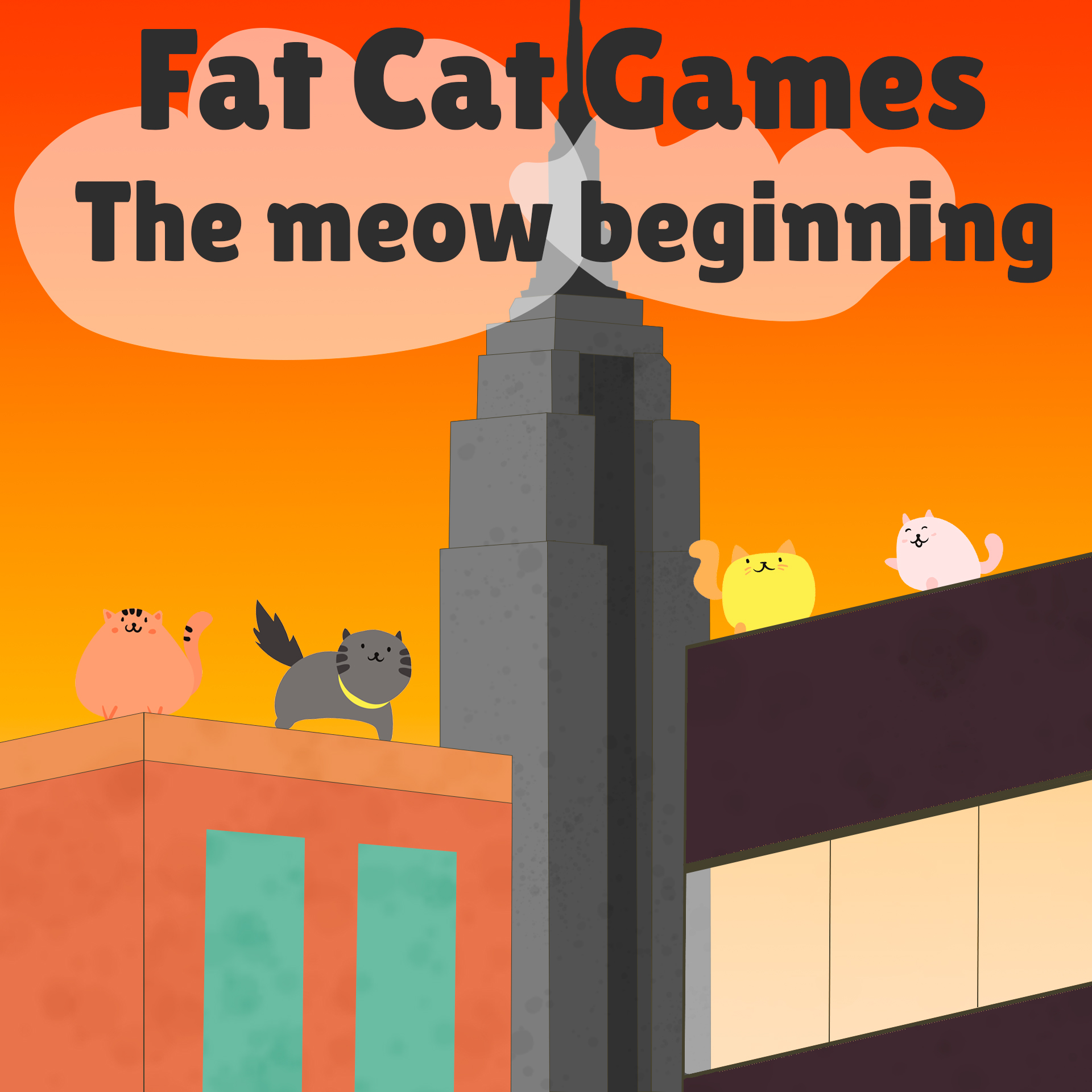 The meow beginning at Fat Cat Games